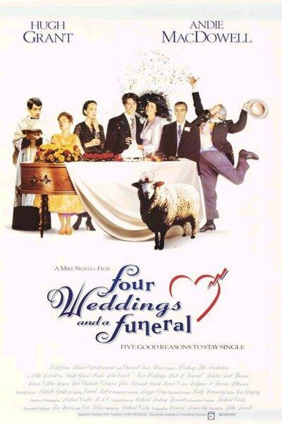 Channel Four Films - Fire bryllupper og en begravelse