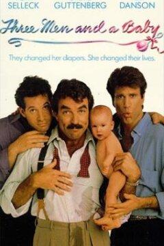 Tre mand og en baby