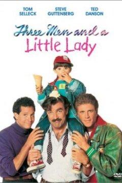 Tre mand og en lille dame