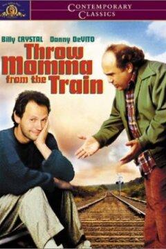 Smid mor af toget