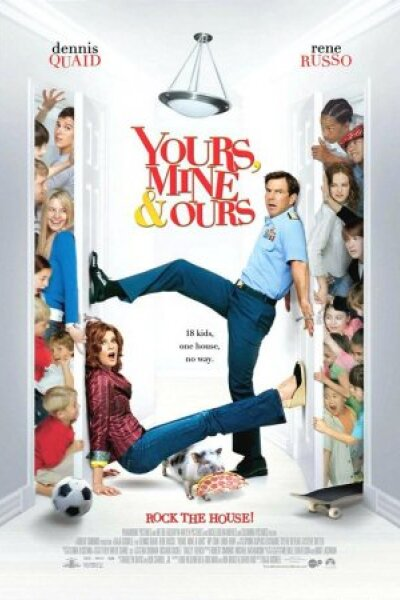 Nickelodeon Movies - Yours, Mine and Ours