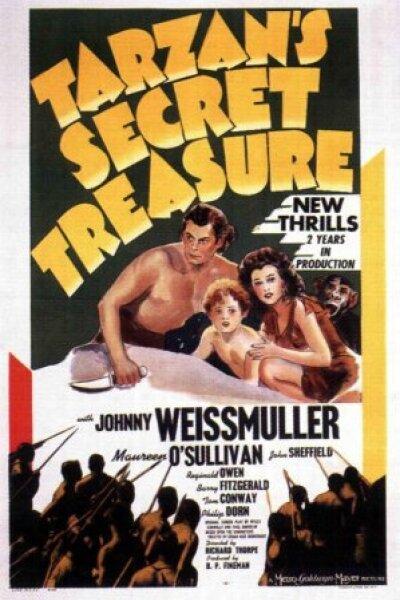 MGM (Metro-Goldwyn-Mayer) - Tarzans hemmelige skat