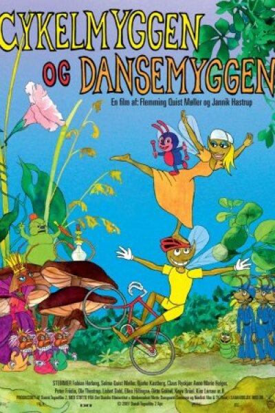Dansk Tegnefilm - Cykelmyggen og dansemyggen