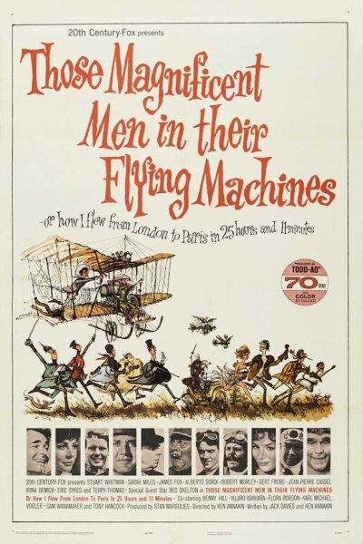 Twentieth Century-Fox Productions - Disse prægtige mænd i deres flyvende maskiner