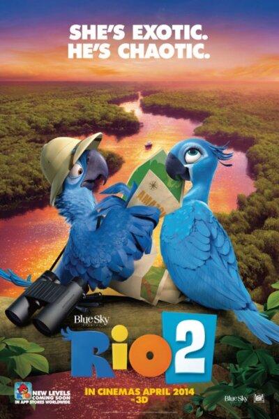 Blue Sky Studios - Rio 2 - Org. vers.