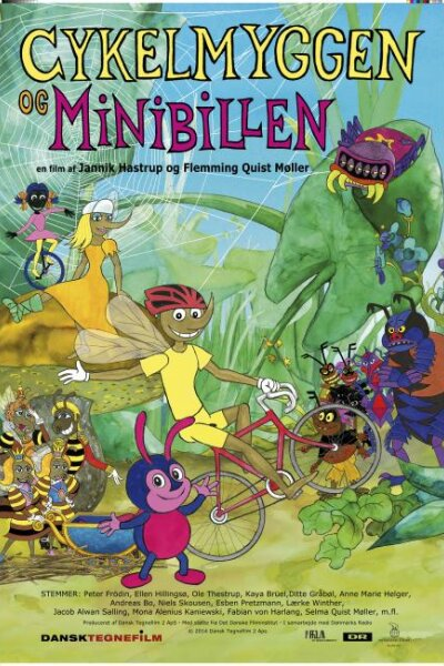 Dansk Tegnefilm - Cykelmyggen og Minibillen