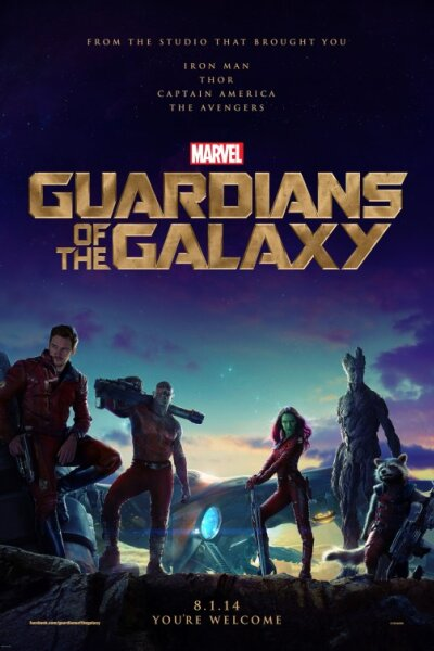 Marvel Studios - Guardians of the Galaxy - 2D