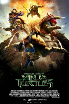 Teenage Mutant Ninja Turtles - 3 D