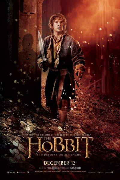 WingNut Films - Hobbitten: Dragen Smaugs ødemark - 3 D HFR