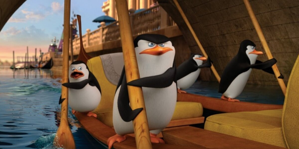 DreamWorks Animation - Pingvinerne fra Madagascar - 3D - Org.Vers.