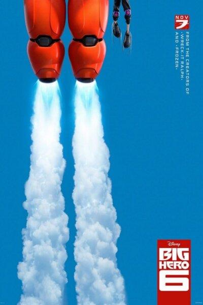 Walt Disney Pictures - Big Hero 6 - 2 D - Org.vers.