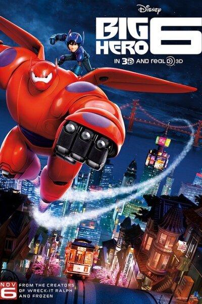 Walt Disney Pictures - Big Hero 6 - 3 D - Org.vers.