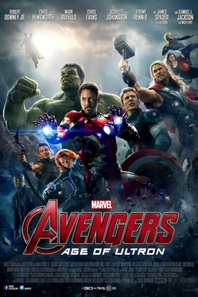Marvel Studios - The Avengers: Age of Ultron - 3 D