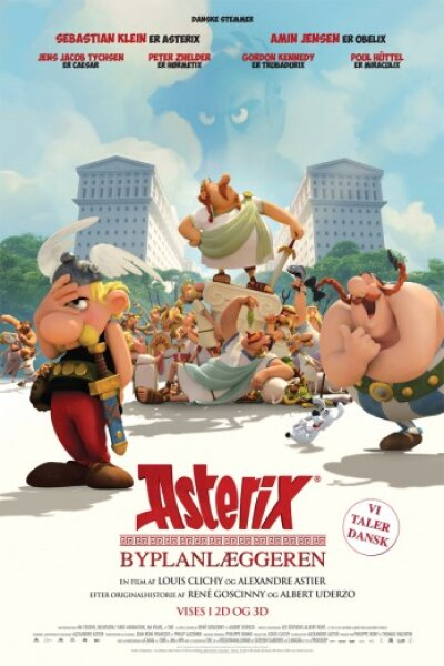 M6 Studio - Asterix: Byplanlæggeren - 3 D