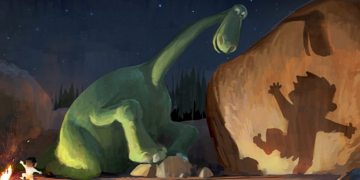 Pixar Animation Studios - Den gode dinosaur - 3 D - dansk tale