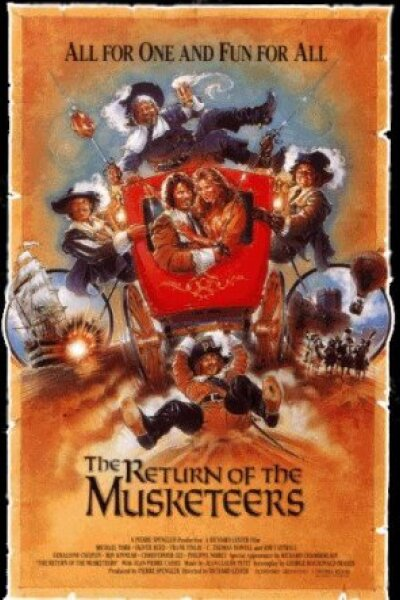 Ciné 5 - The Return of the Musketeers