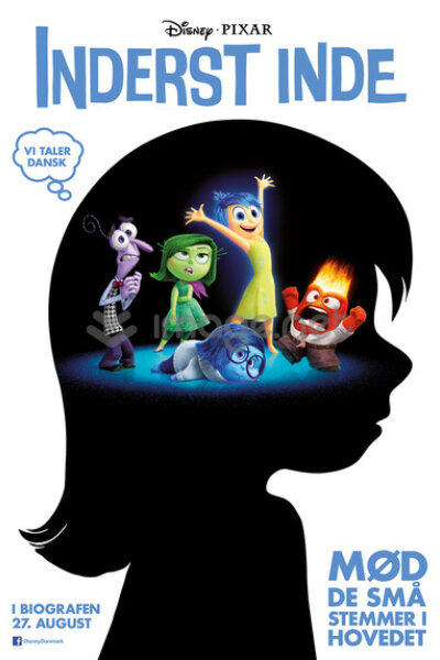 Pixar Animation Studios - Inderst inde - 2 D - med dansk tale