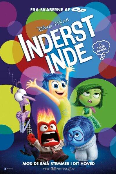 Walt Disney Pictures - Inderst inde - 3 D - med dansk tale
