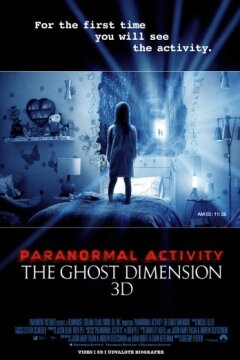 Paranormal Activity: The Ghost Dimension - 3 D