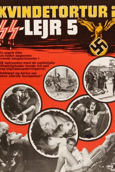 ocietà Europea Films Internazionali Cinematografica - Kvindetortur i SS lejr 5