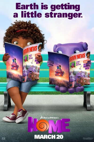 DreamWorks Animation - Hjem - 3 D - org.vers.