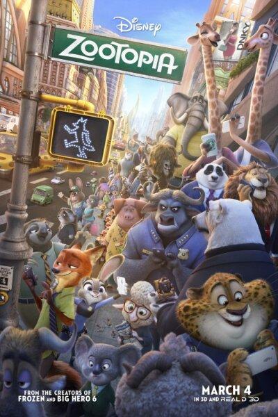 Walt Disney Animation Studios - Zootropolis - 3 D - org.version