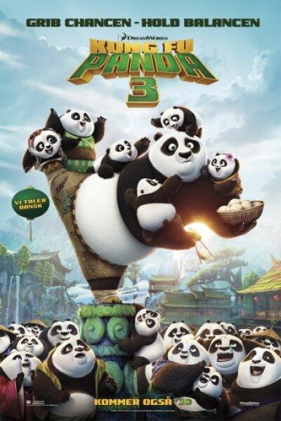 Oriental DreamWorks - Kung Fu Panda 3 - 3 D