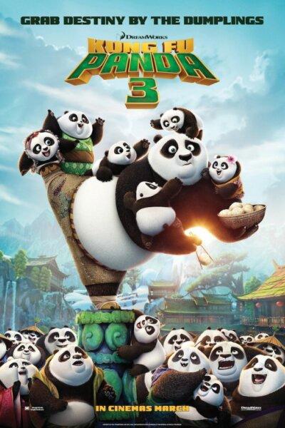 China Film - Kung Fu Panda 3 - Org.vers. - 2 D