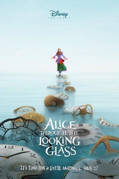 Tim Burton Productions - Alice i Eventyrland: Bag spejlet - 2 D