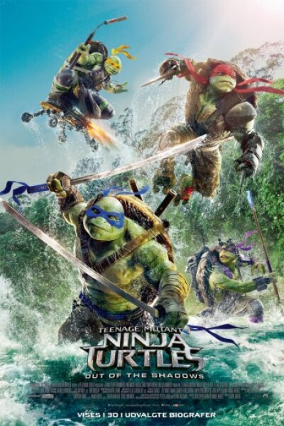 Paramount Pictures - Teenage Mutant Ninja Turtles: Out of the Shadows - 3 D
