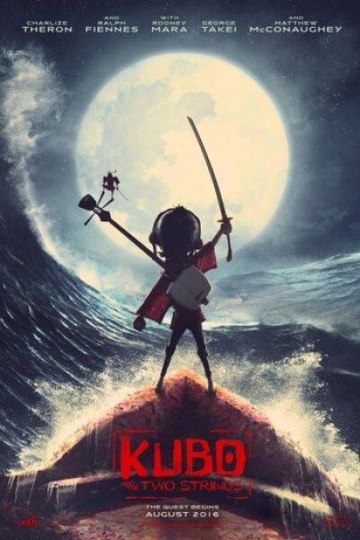 Laika Entertainment - Kubo - den modige samurai - 3 D - dansk tale