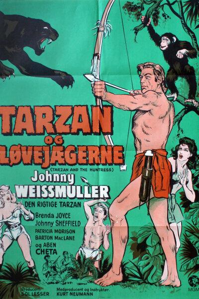 Sol Lesser Productions - Tarzan og løvejægerne