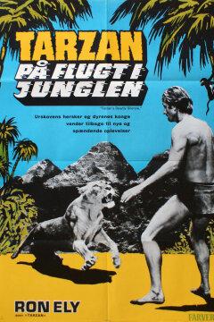 Tarzan på flugt i junglen