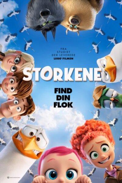 Warner Bros. Animation - Storkene - 3 D - dansk tale