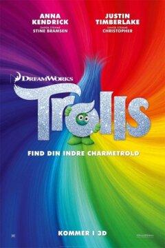 Trolls - dansk tale - 3 D