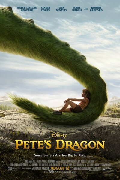 Walt Disney Productions - Peter og dragen - 2 D - org.vers.