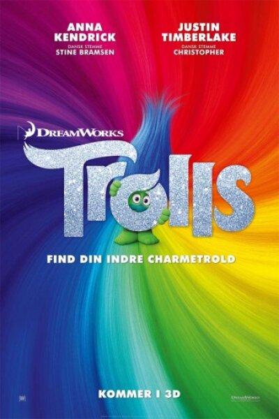 DreamWorks Animation - Trolls - dansk tale - 2 D