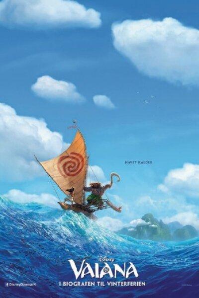 Walt Disney Pictures - Vaiana - 3 D - dansk tale