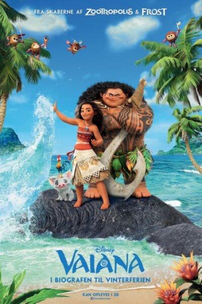 Walt Disney Animation Studios - Vaiana - 2 D - dansk tale