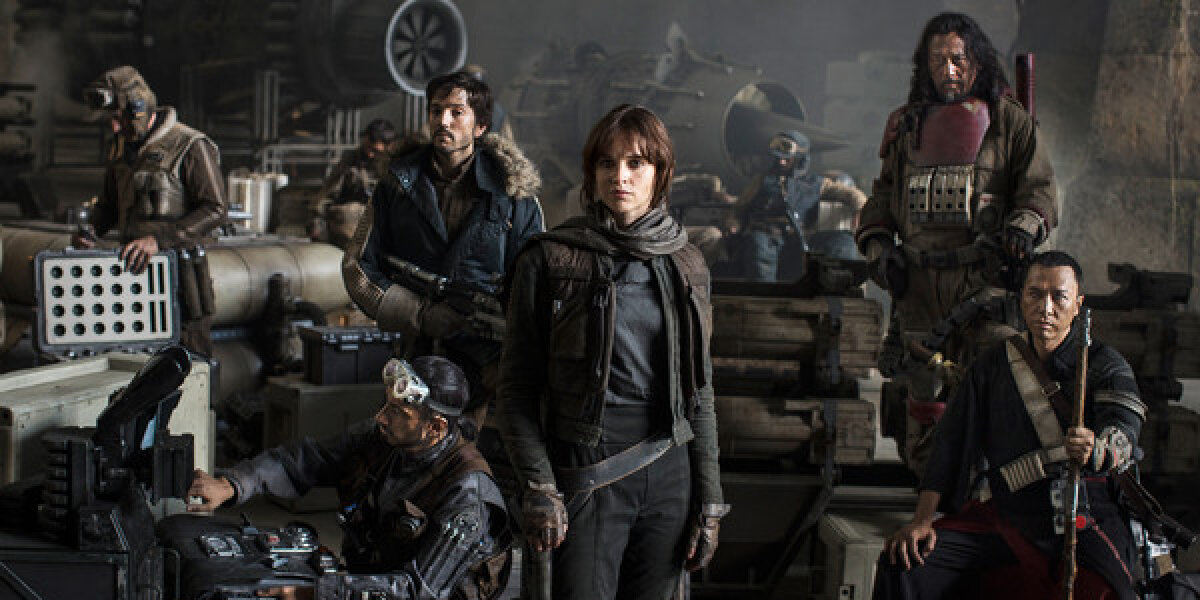 Allison Shearmur Productions - Rogue One: A Star Wars Story - 3 D