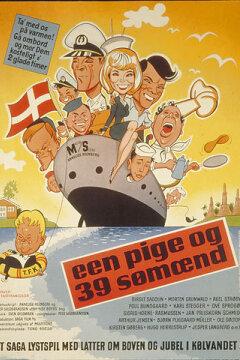 Een pige og 39 sømænd