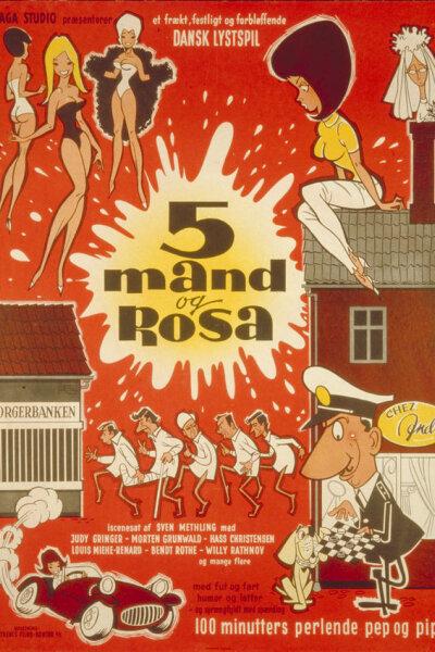 Saga Studio - 5 mand og Rosa