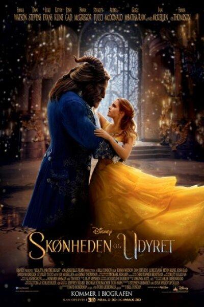 Mandeville Films - Skønheden og udyret - dansk tale - 3 D