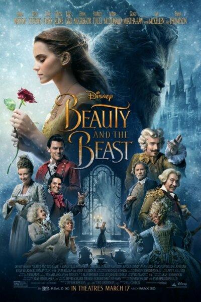 Walt Disney Pictures - Skønheden og udyret - org.vers. - 3 D
