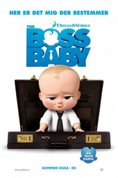 DreamWorks Animation - The Boss Baby - dansk tale - 3 D