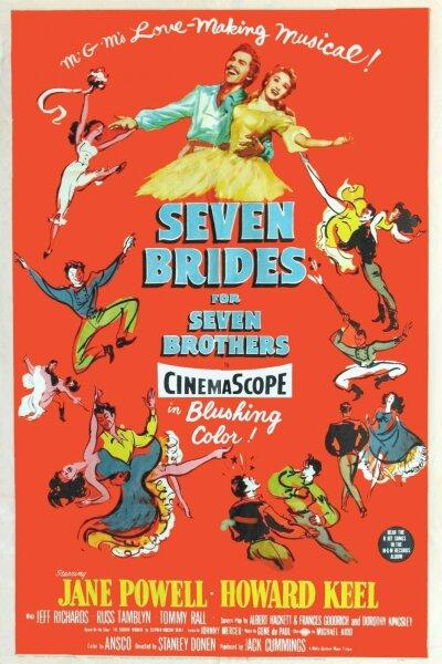 MGM (Metro-Goldwyn-Mayer) - Syv brude til syv brødre