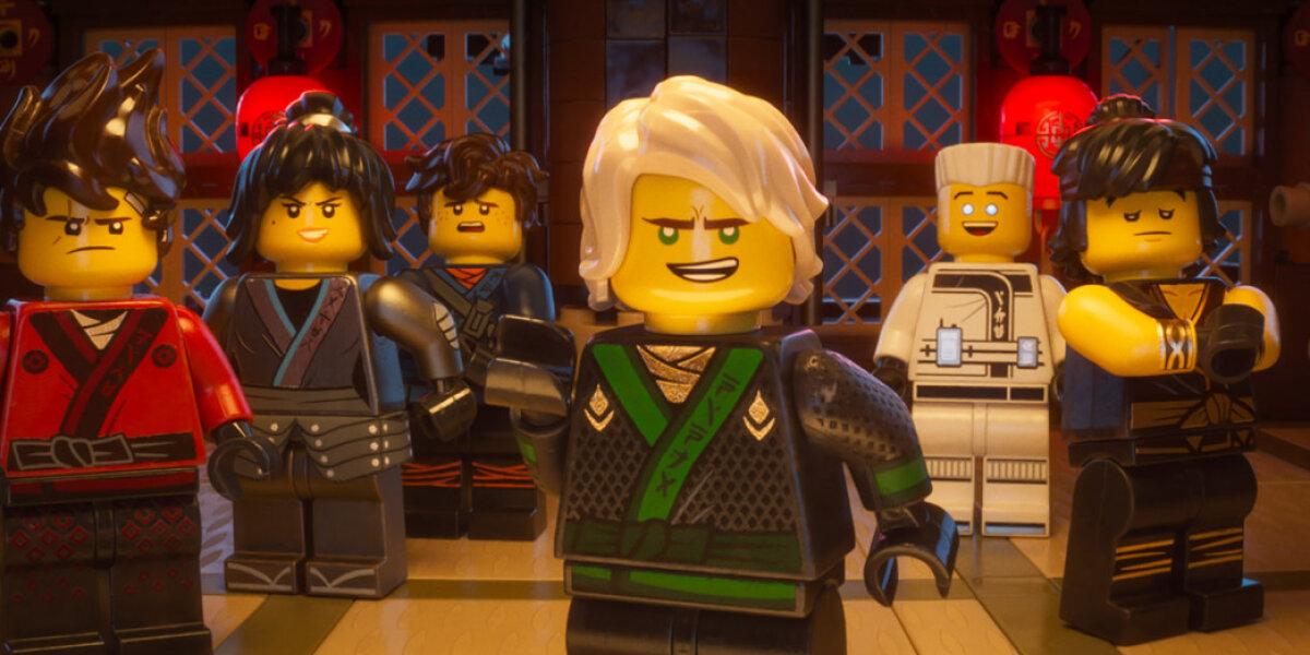 Lin Pictures - Lego Ninjago filmen - 3 D