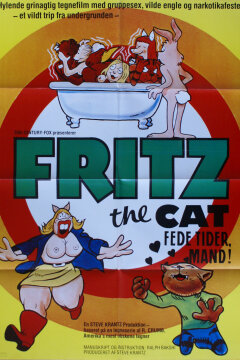 Fritz the Cat - fede tider mand