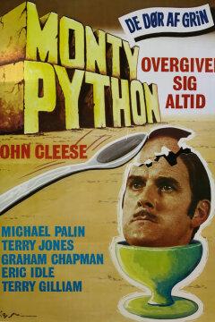 Monty Python overgiver sig altid