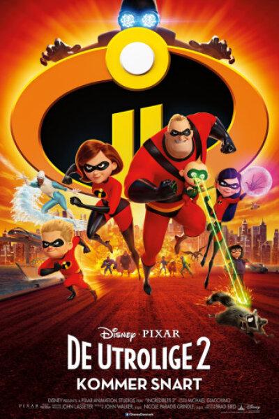 Pixar Animation Studios - De utrolige 2 - dansk tale - 3 D